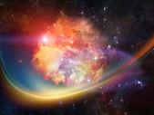 Nebula Abstraction — Zdjęcie stockowe