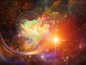 Nebula Backdrop — Stok fotoğraf