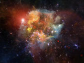 Nebula Propagation — Stock Photo