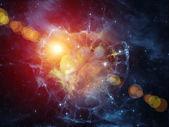 Lights of Nebula — Stock Photo