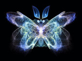 Illusion of Butterfly — Stock Photo