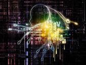 Digital Intelligence — Stock Photo