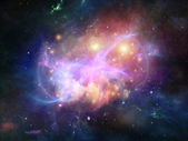 Nebula Arrangement — Stock Photo