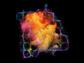 Dance of Elements — Stock Photo
