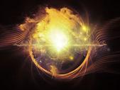 Energy of Vortex — Stock Photo