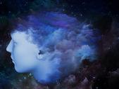 Cloud Mind — Stock Photo