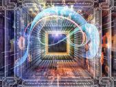 Geometric Inside — Stock Photo