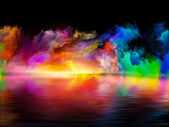 Virtual Colors — Stock Photo