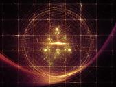 Unfolding of Geometry — Stock Photo