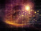 Particle Design — Stock Photo
