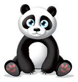 Panda illustration — Stock Photo