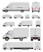 Transporte comercial — Fotografia Stock