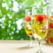 Kiwi Melon Sangria — Stock Photo