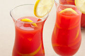 Chilled Orange Lemon Sangria — Stok fotoğraf