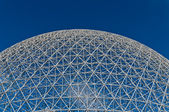 Dome of the montreal biosphere — Stock Photo