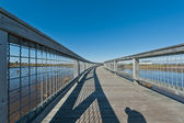 Elevated walkway — Foto Stock