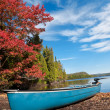 Stock Photo: Kayak, Boat during sunny day