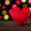 Red heart — Stock Photo #18244427