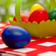 Handcrafted easter eggs — Stock Photo