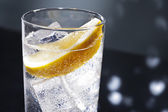 Gin-tonic of tom collins — Stockfoto