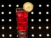 Red Campari Cocktail — Stock Photo