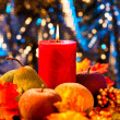 Autumn candles - Stockfoto