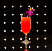 Singapore Sling Cocktail — Stock Photo