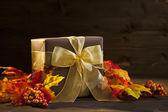 Autumn Present — Stock Photo