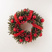 Advent Christmas wreath — Stock Photo
