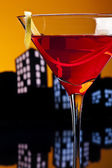 Metropolis Cosmopolitan Cocktail — Stock Photo