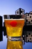 Metropolis Mai Tai cocktail — Stock Photo