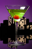Metropolis Apple Martini — Stock Photo