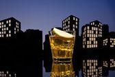 Metropolis Whisky sour cocktail — Stock Photo