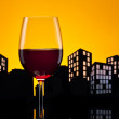 Metropolis Red Wine — Stock Photo #31199793