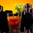 Metropolis Bloody Mary cocktail — ストック写真