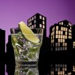 Stock Photo: Metropolis Mojito cocktail