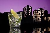 Metropolis Mojito cocktail — Stock Photo