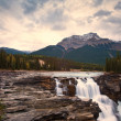 athabasca falls waterfall — Stock Photo
