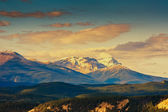 Rocky Mountain, Banff National Park — Stock Photo