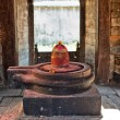 Shiva lingam of Pashupatinath temple — Stock Photo