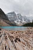 Lake moraine — Stock Photo