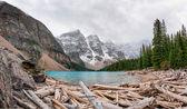 Moraine lake — Foto Stock