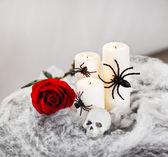 Halloween decoratie — Stockfoto
