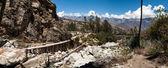 Entrance to Santa Cruz Trek, Peru,  — Stockfoto