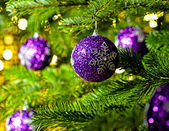 Ornament in a Christmas tree — Stock Photo