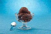 Chocolate ice cream — Foto Stock