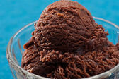 巧克力冰淇淋 — 图库照片