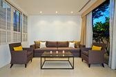 Brilhante sala de estar — Foto Stock
