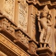 Stock Photo: Bas relief of temples in Khajuraho, India