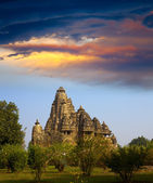 Temple in Khajuraho, India — Stock Photo